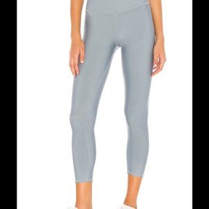 [Alo Yoga] Blue High Waisted Airlift Capri Legging